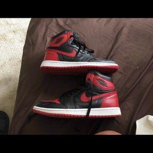 Jordan Retro 1 size 7.5 (Banned)